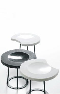 Enzo Berti for Kreoo | MOON stool-table