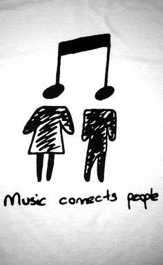 """""""La musica conecta a la gente, esa es su magia"""""""