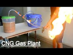 How to Make Fuel Gas by fruits and vegetables waste