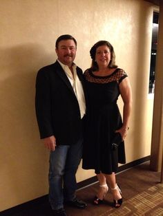 The Beautiful Becky & Handsome Michael Harris ( Parents of Chris Young )