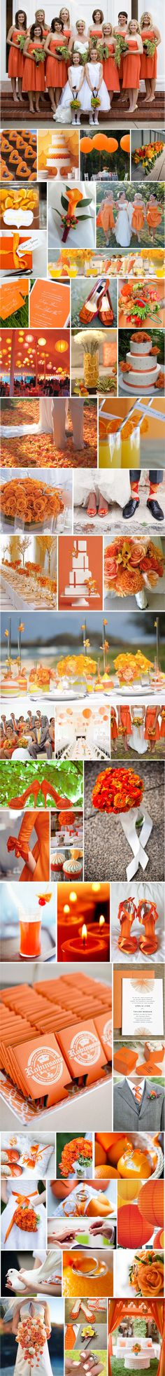 Wedding Cakes Blue Orange Bridesmaid Dresses 33 Ideas For 2019 Orange Wedding Colors, Fall Wedding Colors, Wedding Color Schemes, Orange Weddings, Wedding Themes, Wedding Decorations, Wedding Cakes, Wedding Ideas, Rustic Wedding