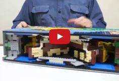 Um livro de armar versão lego! (video)