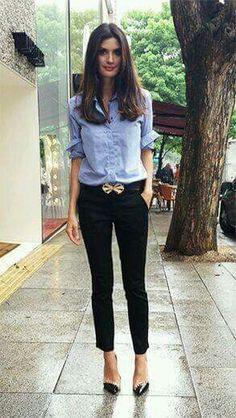 Ideas de como llevar zapato flat y lucir con mucho Estilo http://comoorganizarlacasa.com/en/28-ideas-for-casual-look-with-flat-shoe-and-heel-shoe <3