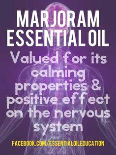 Marjoram Essential Oil  (visit http://www.mydoterra.com/katiewilson/)