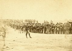 Confederate prisoners captured at Five Forks, Virginia, April 2, 1865 (detail from stereoview)