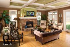 Schumacher Homes America's largest custom home builder - Living room
