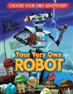 By R. A. Montgomery Using your scientist parents' robot junk, you build your own robot. Gus, your quirky robot, steams when he should sing, shoots up into space without warning, and lands himself in a