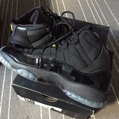 brand new 3b822 a7ad2 Air Jordan 11 Retro   Gamma Black gamma blue-black varsity high top. Latest  release. New in box with shoe inserts. Never worn out. Size 5.5Y (to fit  women s ...