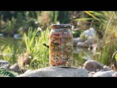 Sałatka Kubańska na zimę - YouTube Mason Jars, Outdoor Decor, Youtube, Food, Essen, Mason Jar, Meals, Youtubers, Yemek