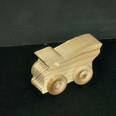 Handcrafted Wood Toy Dump Truck 161AAH-U  unfinished or finished by VMWoodFactree for $1.76