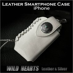 Leather Leather Phone Case, Wild Hearts, Cufflinks, Smartphone, Iphone Cases, Silver, Accessories, Patterns, Iphone Case