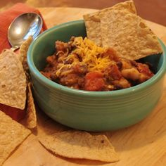 Quick Pumpkin Chili (Healthy, hearty, easy, and FAAAST!)  #cookandtell @Serious Eats