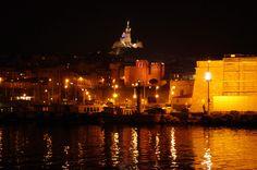 https://flic.kr/p/uBdEoj | Marseille 2014 - 26 le bassin du Vieux Port, l'Abbaye Saint-Victor et Notre-Dame de la Garde