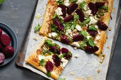 Make this easy gourmet pizza using speedy filo pastry.