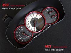 Toyota GT86 BRZ Instrument Decoration Ring Red | eBay