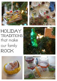 holiday traditions that make our family rock: #forwhatmattersmost