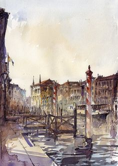 Venice canal   by tony belobrajdic