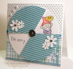 There She Goes Clear Stamps: Wednesday Trends ~ Revolving Door Technique