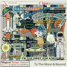 To the Moon and Beyond by Magical Scraps Galore http://store.gingerscraps.net/To-The-Moon-And-Beyond.html