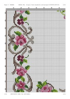 Cross Stitch Heart, Cross Stitch Borders, Cross Stitch Flowers, Cross Stitch Designs, Cross Stitching, Cross Stitch Embroidery, Hand Embroidery, Cross Stitch Patterns, Quilt Patterns