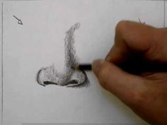 ▶ How to Draw a Nose - YouTube