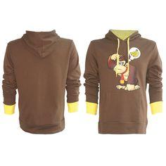 Luvtröja Nintendo - Donkey Kong Cool luvtröja med Donkey Kong. #luvtröja #donkey #kong #donkeykong #dk #nintendo #fashion #swag #Runns