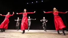 "Georgian folk dance group ""Abkhazeti"". Abkhazian - Svanetian Stylized da..."