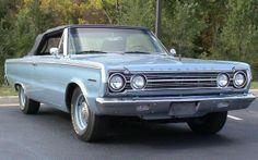1967 Plymouth Belvedere Convertible