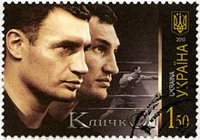 Klitschko brothers - Wikipedia. Famous champion boxers of Ukraine - one of the two has entered politics.