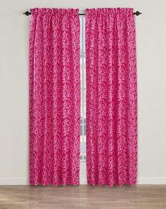 Dense Roses Curtain Panel