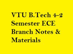108 Best Vtu Images Lectures Notes Notes Materials Notes