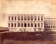 1900 lere doğru Çırağan sarayı / İstanbul