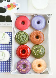 Tea Colored Donuts DIY