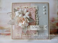 Let's get shabby Handmade Card Making, Shabby Chic Cards, Spellbinders Cards, Card Making Inspiration, Inspiration Cards, Beautiful Handmade Cards, Scrapbook Cards, Scrapbooking, Card Tags