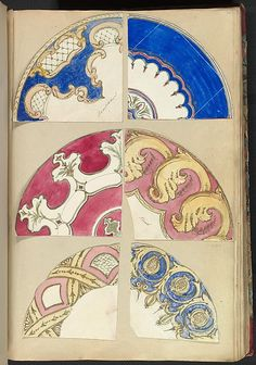 Alfred Henry Forrester [Alfred Crowquill] | Six Designs for Decorated Plates | The Metropolitan Museum of Art