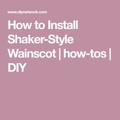 How to Install Shake