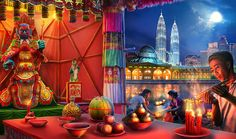 Gardens of Time | Hungry Ghost Festival