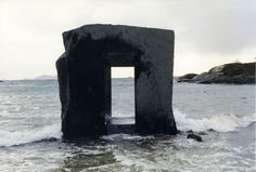 Anish Kapoor, The Eye in the Stone, 1998 – Granite, 300×300×200 cm – Artscape Nordland, Lødingen,