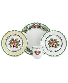 Villeroy U0026 Boch Dinnerware, French Garden Noel Collection   Christmas  Dining   Holiday Lane