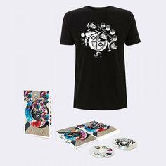 Buy Online MEW - + - (Deluxe Double CD Book) & Exclusive T-Shirt