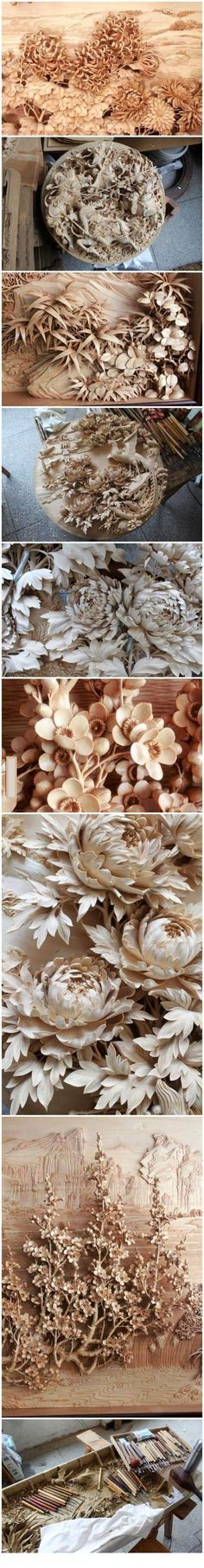 Amazing Chinese wood craft