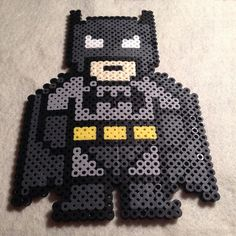 Batman perler beads by sillyscraftycreation