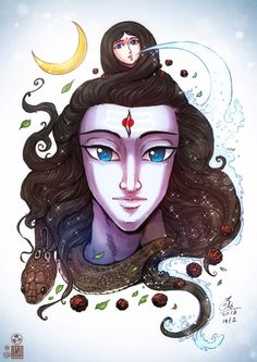 Lord Ganesh by In-Sine on DeviantArt Mahakal Shiva, Shiva Art, Krishna Art, Hindu Art, Shiva Statue, Lord Shiva Hd Wallpaper, Lord Vishnu Wallpapers, Lord Shiva Family, Lord Shiva Painting