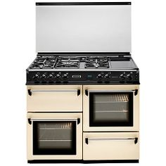 Buy Leisure CMT102FRCP Dual Fuel Range Cooker, Cream Online at johnlewis.com