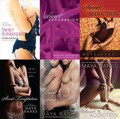 Românticos e Eróticos  Book: Maya Banks - Sweet #1 a #6