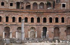 Rom, Via dei Fori Imperiali, Trajansmärkte (Trajan's markets)