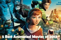 5 Best Animated Movies of 2013