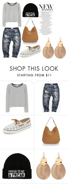 """""""Untitled #53"""" by sprolsvtt on Polyvore featuring MANGO, One Teaspoon, Sperry, Rebecca Minkoff and Alexis Bittar"""