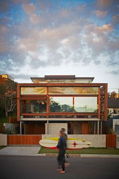 Designed by Brewster Hjorth #Architects, Freshwater House is located in North Freshwater, Sydney, Australia.