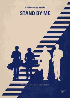 Stand by Me (1986) ~ Minimal Movie Poster by Chungkong #amusementphile